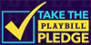Playbill Pledge